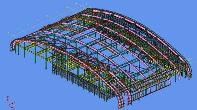 Subbit Structural Steel Detailing services, using TEKLA technology